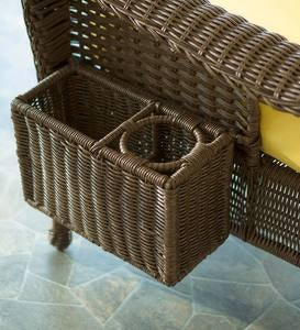 Prospect Hill Wicker Deep Seating Magazine Rack Attachment