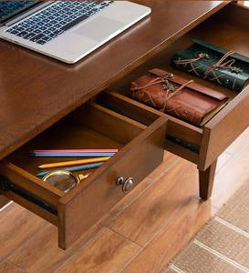 Benton Desk with Charging Station
