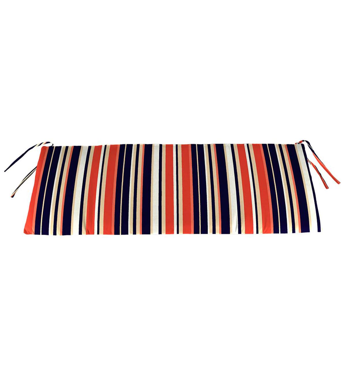 "Sale! Polyester Classic Swing/Bench Cushion, 47""x 16""x 3"""
