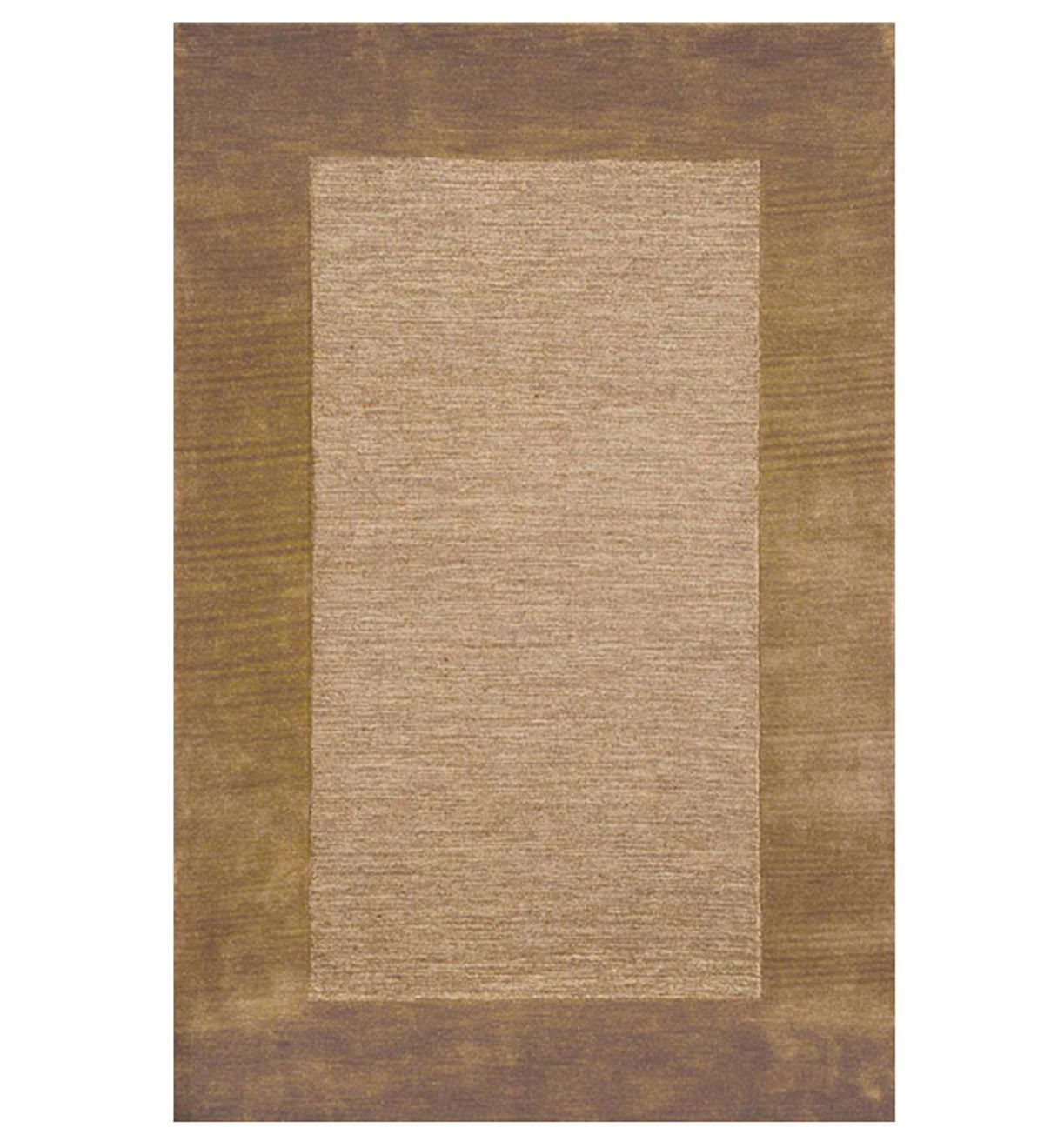 2 X 4 Madrid Banded Rectangular Hearth Rug Indoor Rugs