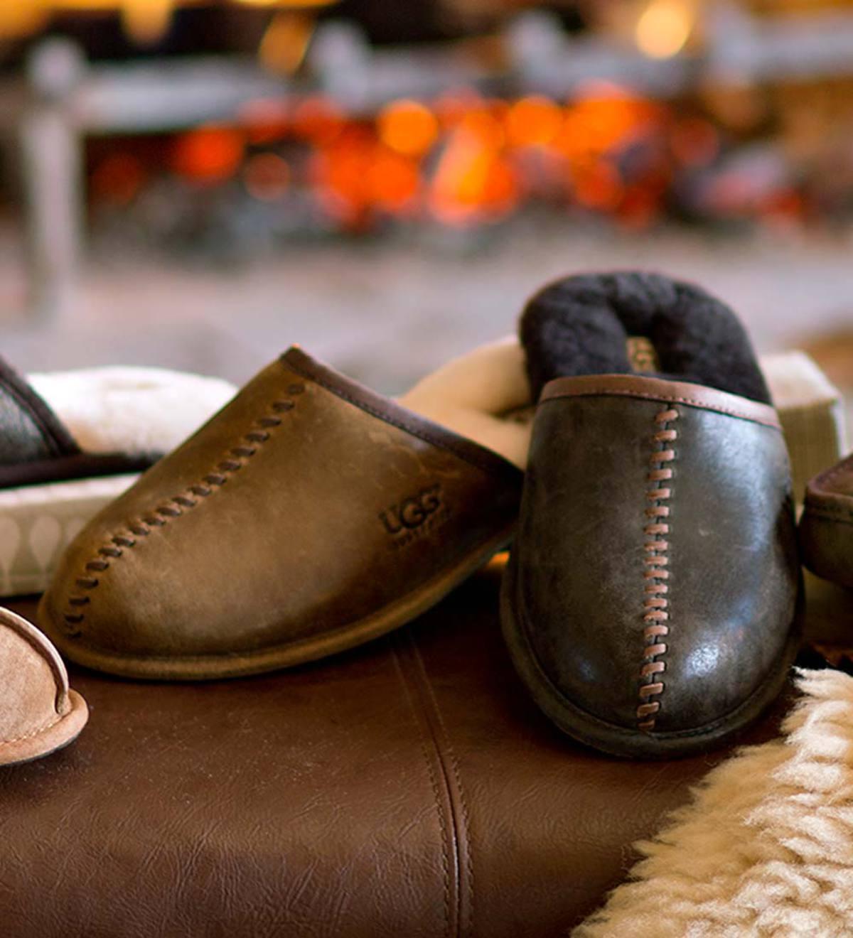2df577f9148 UGG Australia Men's Scuff Deco Slippers | PlowHearth