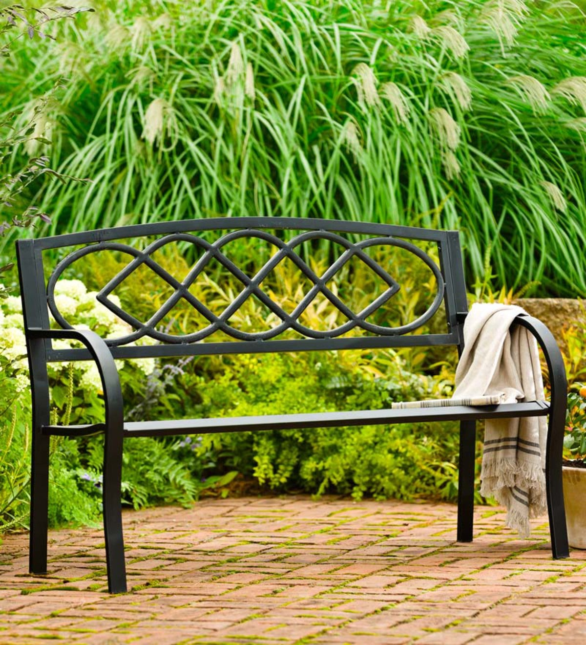 Celtic Knot Garden Bench