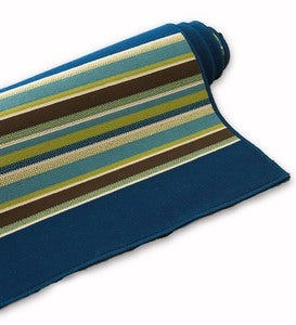 "Camp Stripe Surry Rug, 2'5""x 4'5"" - Blue"