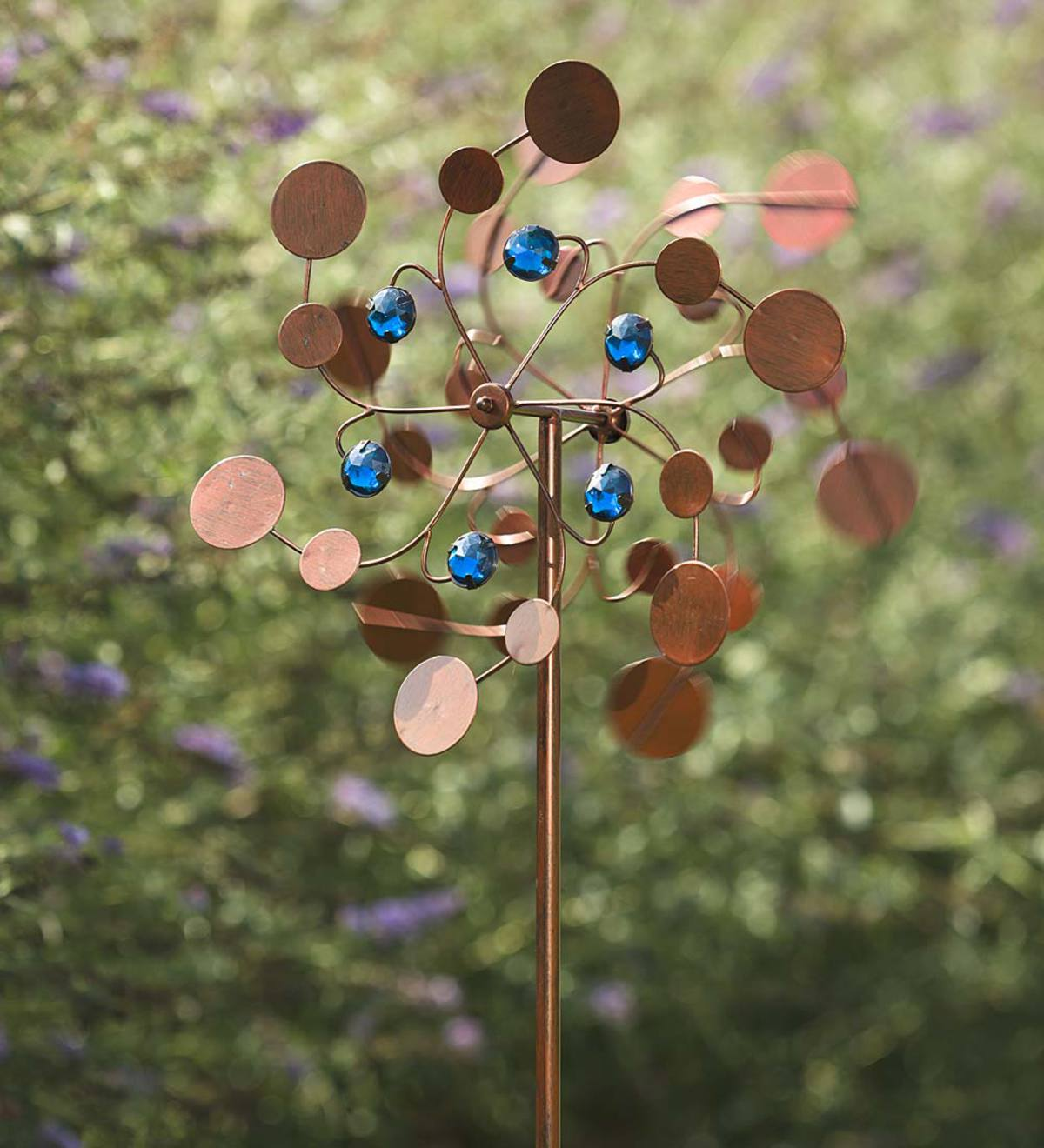 Midi Garden Metal Wind Spinner - Copper
