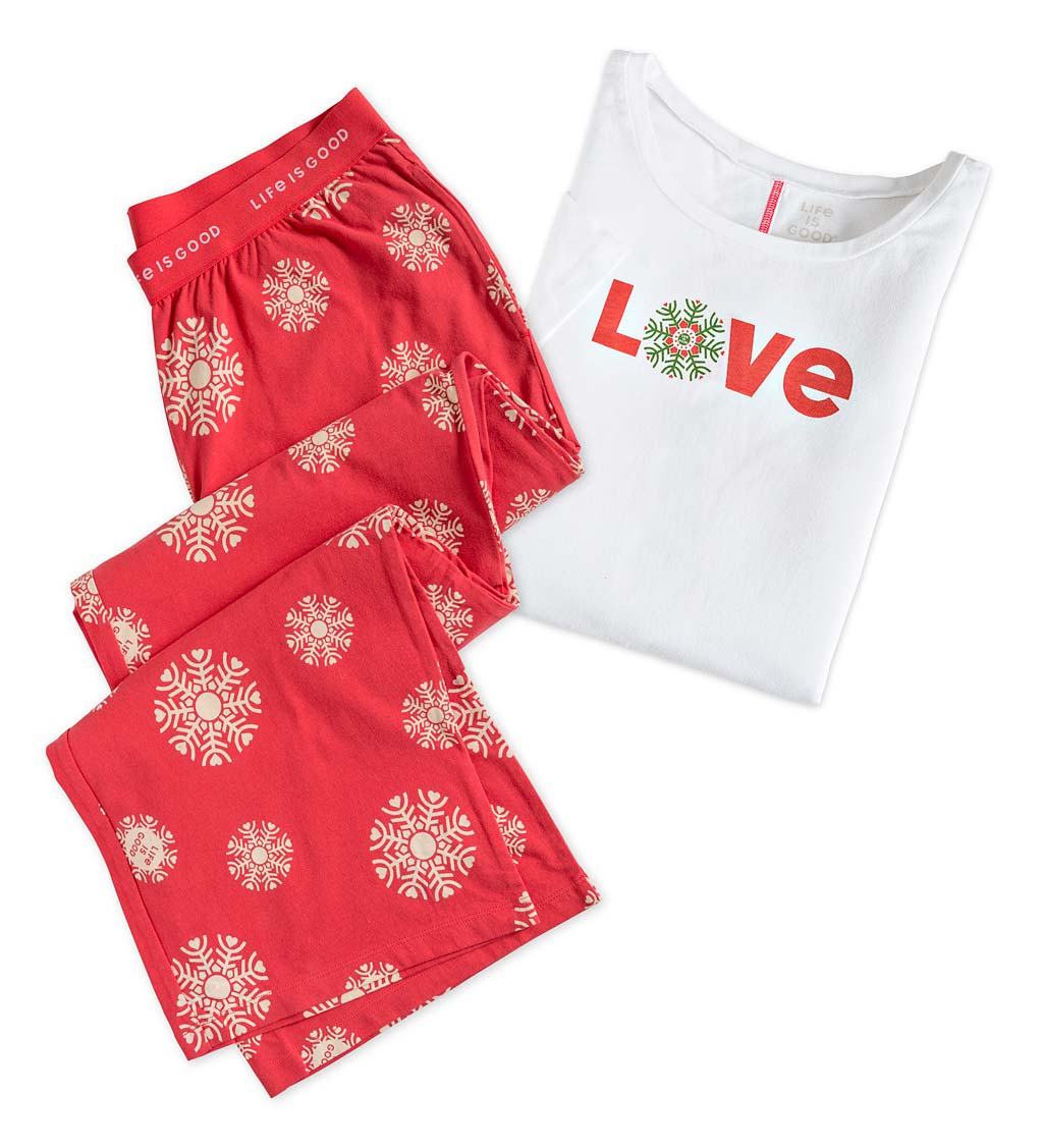 Life Is Good Women's Sleepwear PJ Set