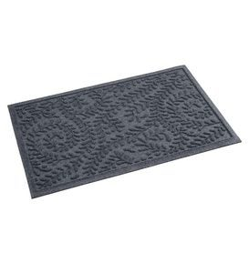 "22-1/2""W x 35-1/4""L Medium Boxwood Waterhog Doormat - Blue"