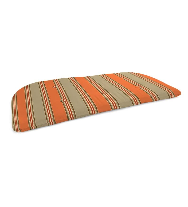 "Sunbrella Classic Tufted Swing/Bench Cushion, 41¾"" x 18¾""x 3"" swatch image"