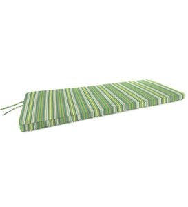 "Deluxe Sunbrella Swing/Bench Cushion with ties 53"" x 18½"" x 3"""