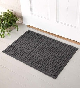 "Large Basket Weave Waterhog™ Doormat, 35""x 45"""