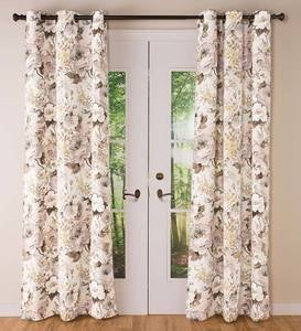Thermalogic Insulated Bella Donna Floral Grommet-Top Curtain Pairs