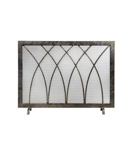 Handcrafted Steel Hansel Fireplace Screen