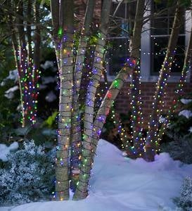 "LED Multifunction Twinkle String Lights, 48'4""L with 192 lights"