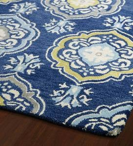 Meadow Perennial Wool Rug, 2' x 3'