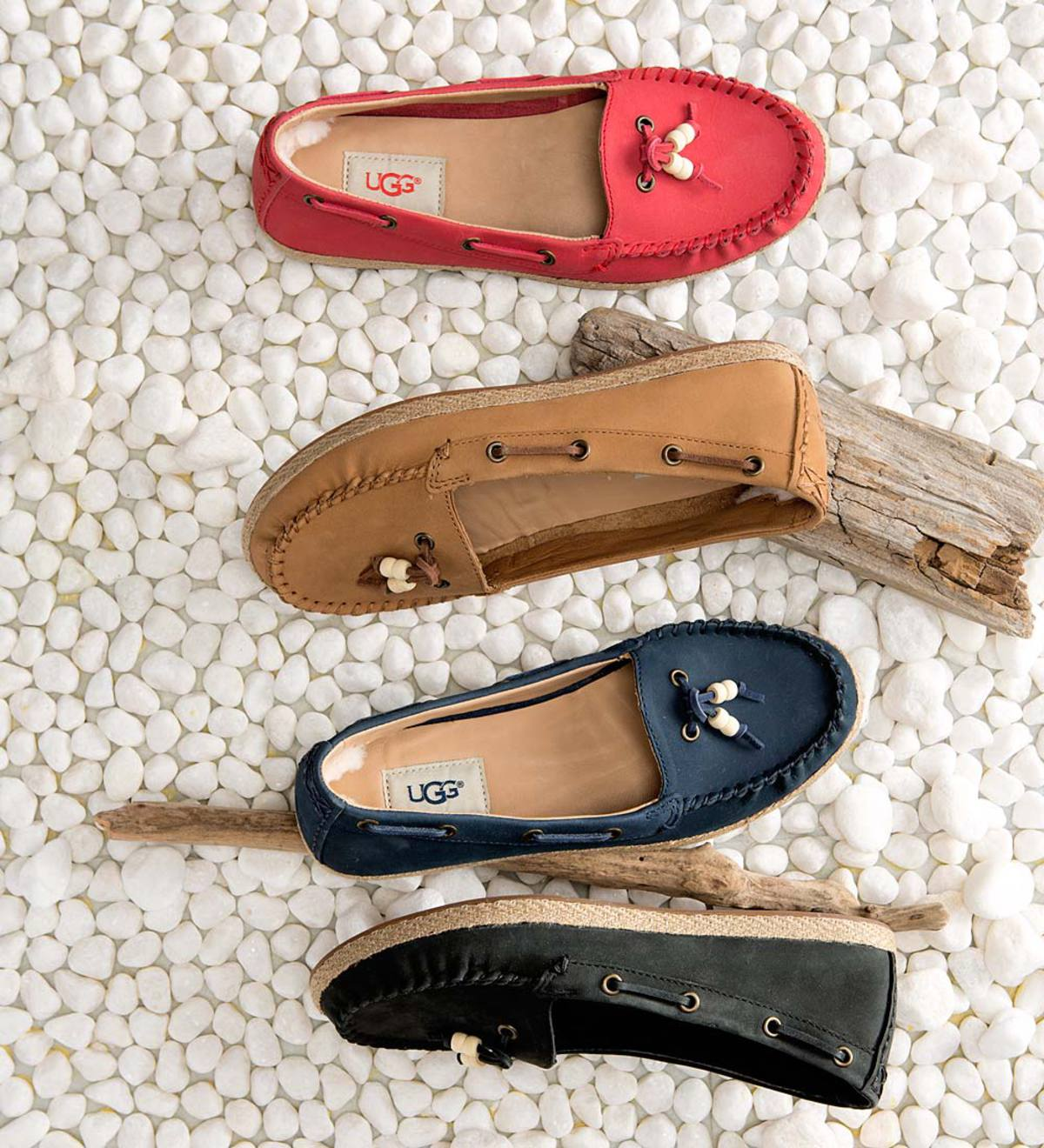 2ae8bdb1045 UGG Suzette Moccasin with Beads   PlowHearth