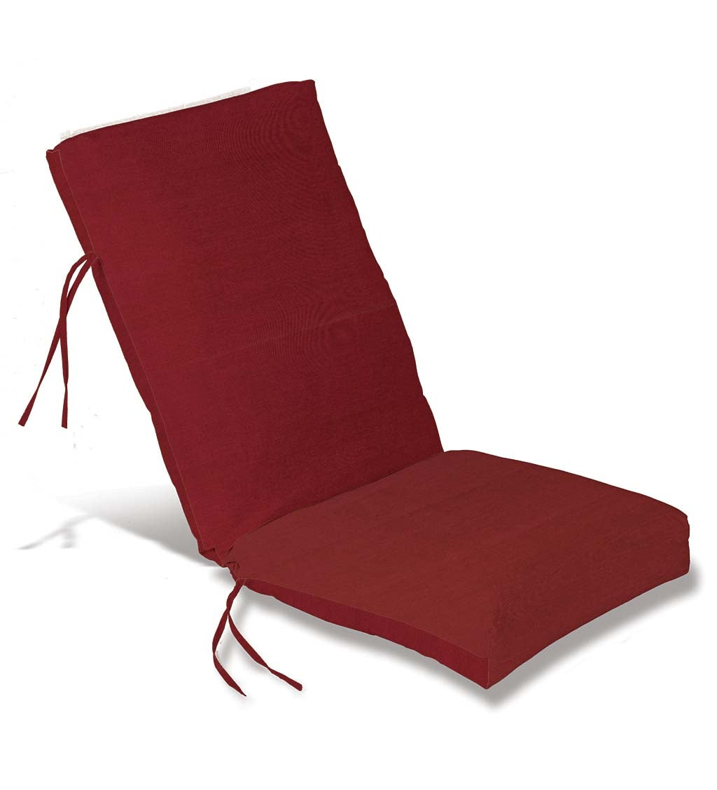 Classic Outdoor High Back Chair Cushion