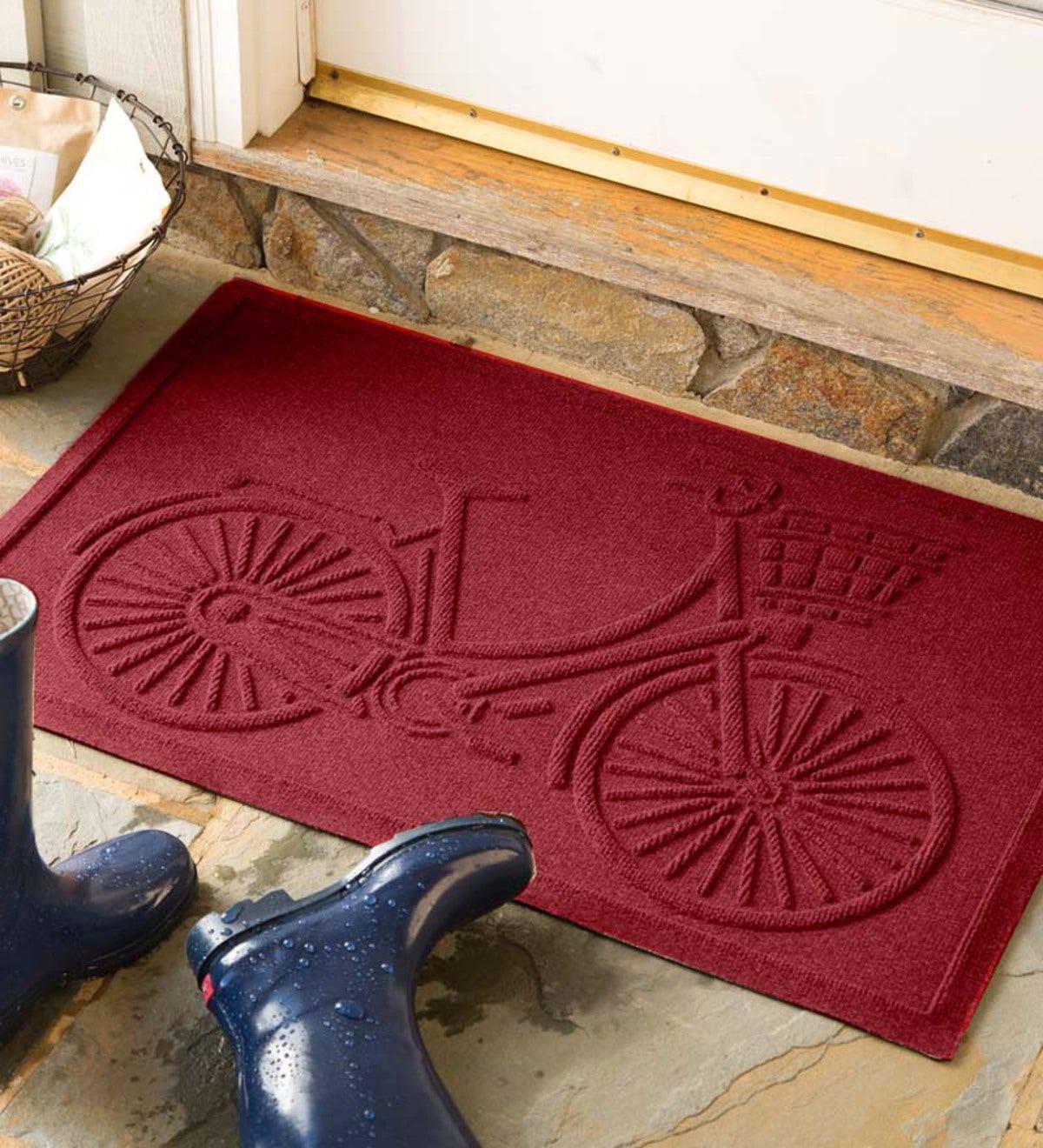 medium bicycle waterhog u2122 doormat  2 u0026 39  x 3 u0026 39
