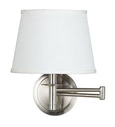 Classic Space-Saving Swing-Arm Wall-Mounted Reading Lamp swatch image