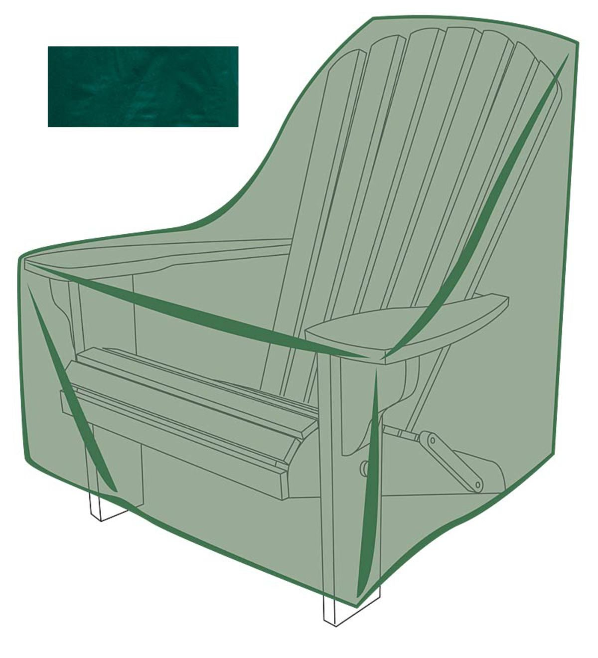 Plow And Hearth Furniture: Outdoor Furniture Cover For Adirondack Chair