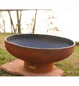 American-Made Firepit Art Low Boy Retro Fire Pit