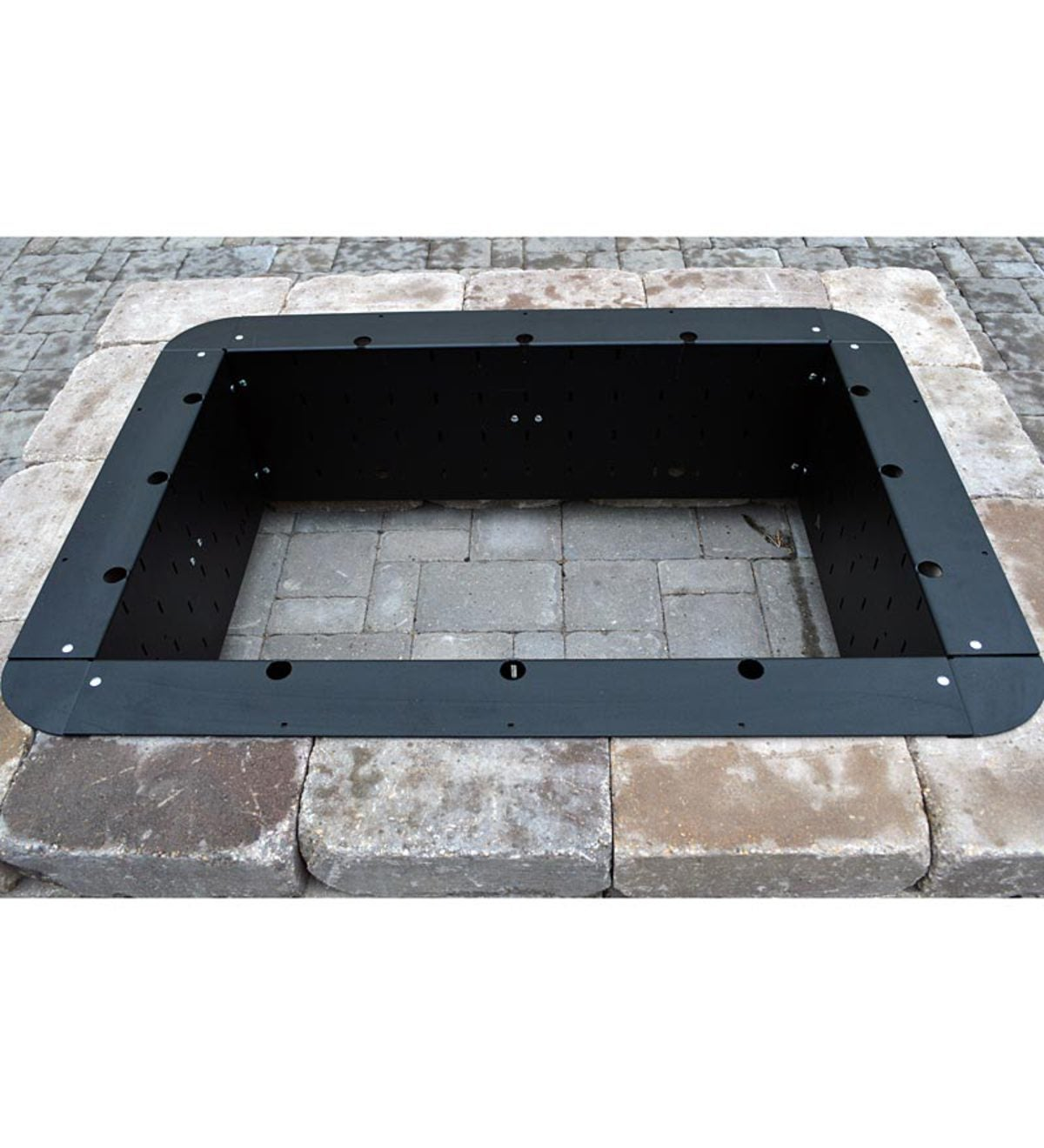 "American-Made 24""Square Fire Pit Insert - American-Made 24""Square Fire Pit Insert PlowHearth"
