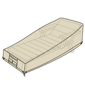 Deluxe Long Chaise Cover