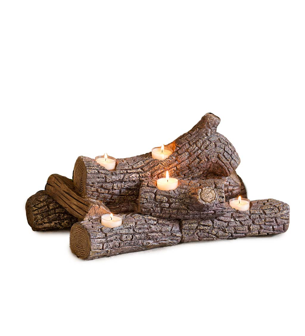 Logs Hearth Candle Holder swatch image