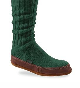 Acorn Slipper Socks for Men and Women - Alpine - Medium