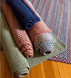 Blue Ridge Rectangle Wool Braided Rugs