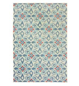 Indoor/Outdoor Clearwater Print Rug, 8' x 10'