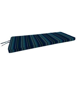 "Deluxe Sunbrella Swing/Bench Cushion with ties 54"" x 18"" x 3"""