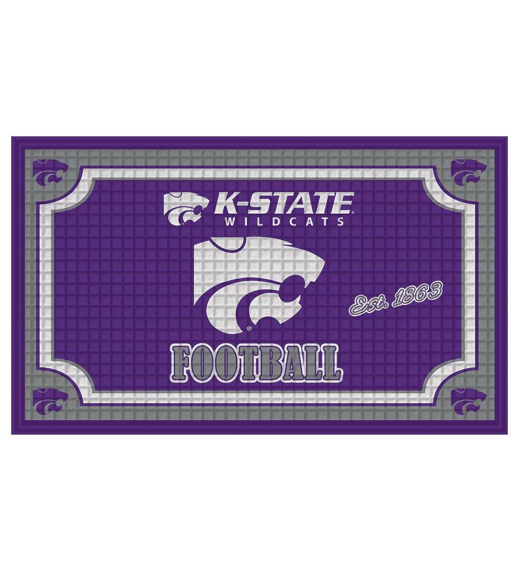 Indoor/Outdoor College Team Pride Embossed Doormat