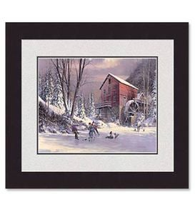 'Old Mill Pond'  Framed Print by Douglas Laird