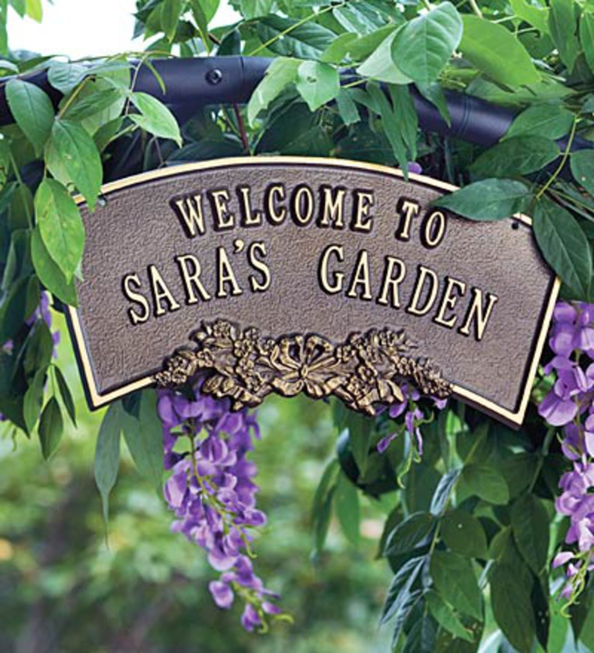 Personalized Arbor Plaque