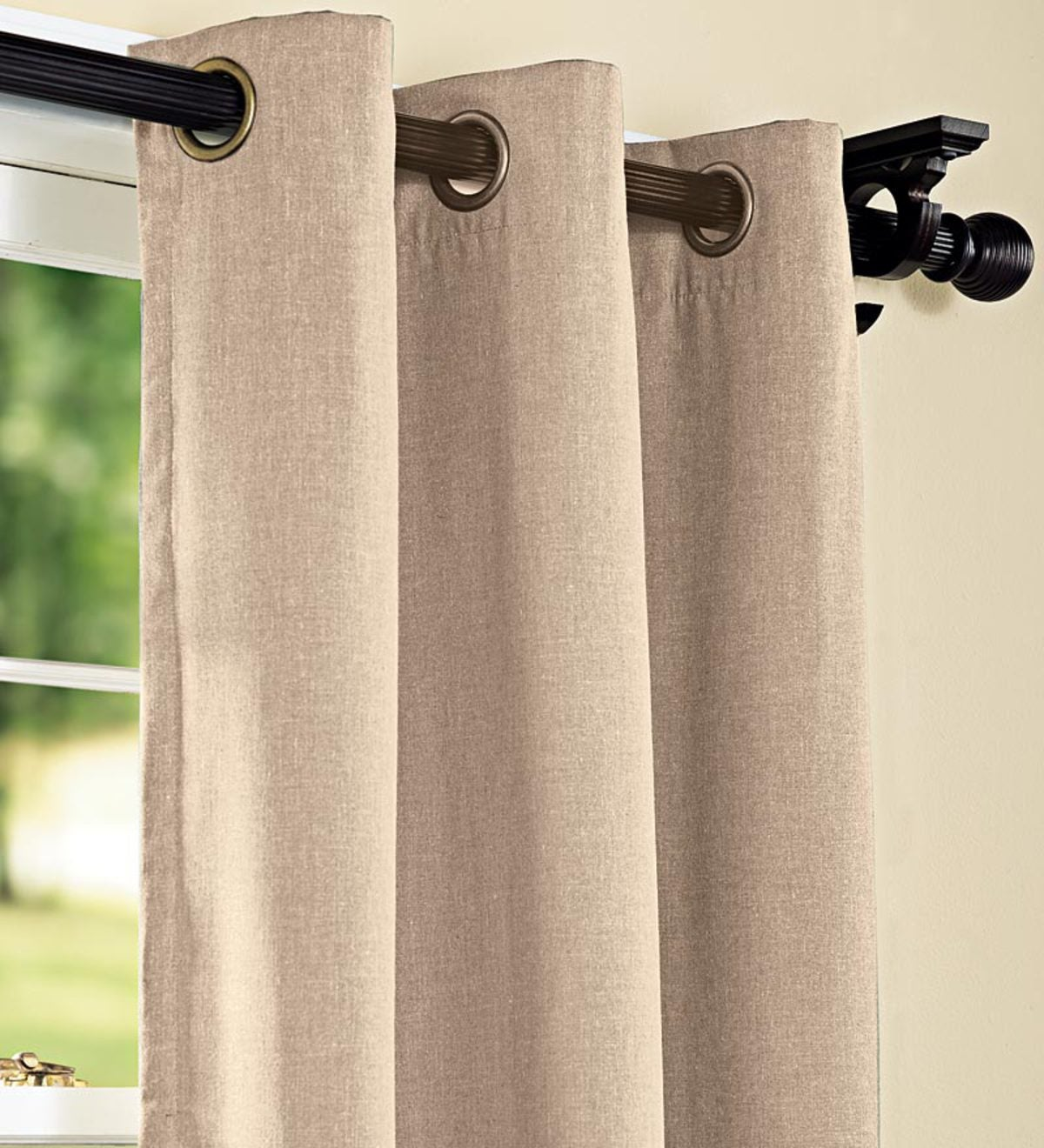 "96""Energy Efficient Grommet-Top Insulated Curtain"