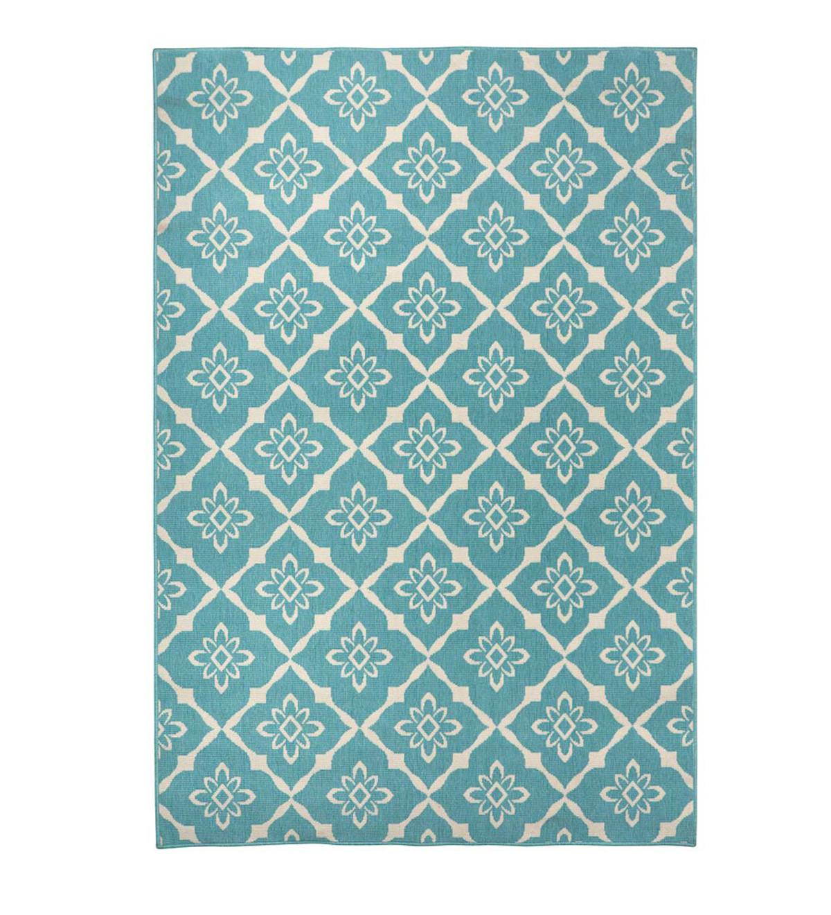 "Sale! Lexington Trellis Rug, 5'3""x 7'6"" - Light Green"