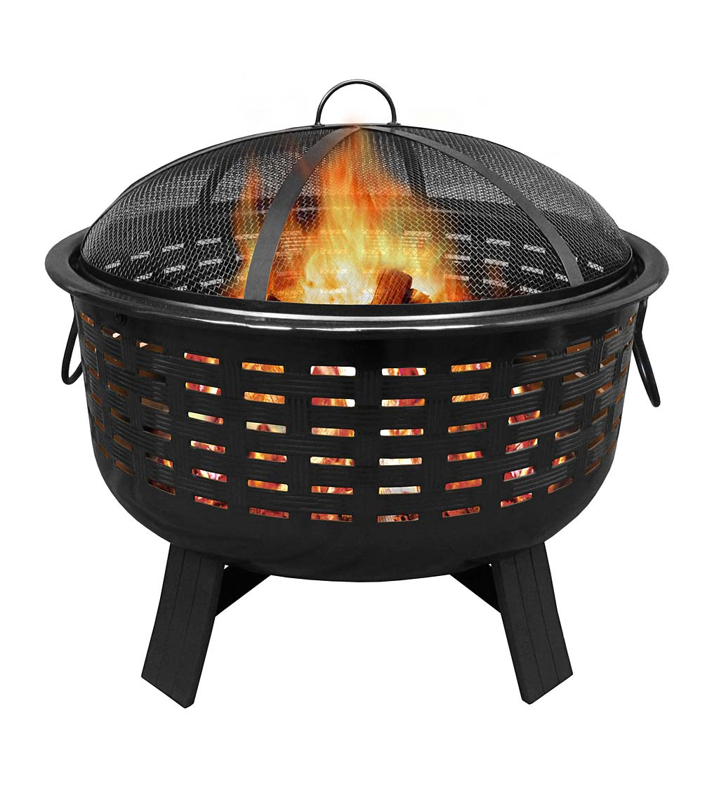 Fireglow Wood-Burning Fire Pit