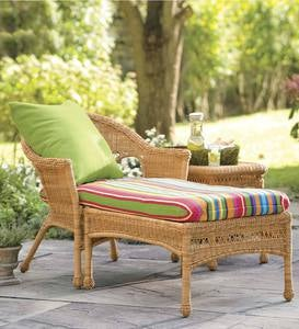 Easy Care Resin Wicker Chaise