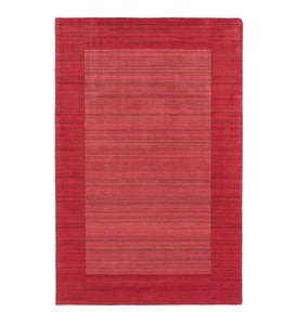 "9'6""x 13' Regency Wool Rug - Watermelon"