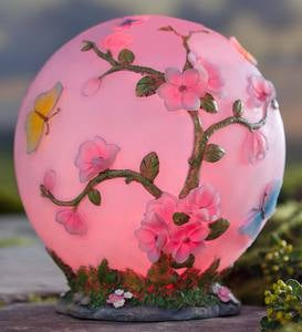 Glowing LED Cherry Blossom Garden Globe