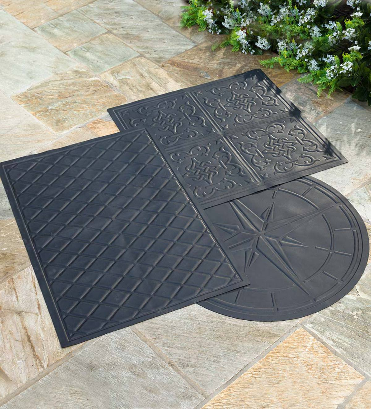 Flame Resistant Protective Mat For Fire Pit And Grill