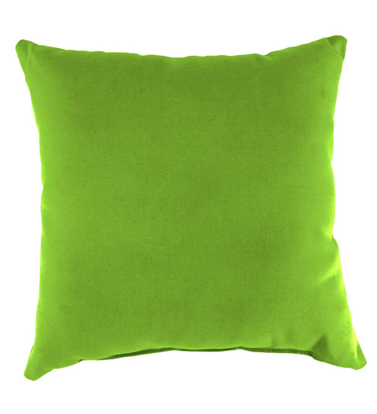 "Polyester Classic Throw Pillow, 15"" sq. x 7"""