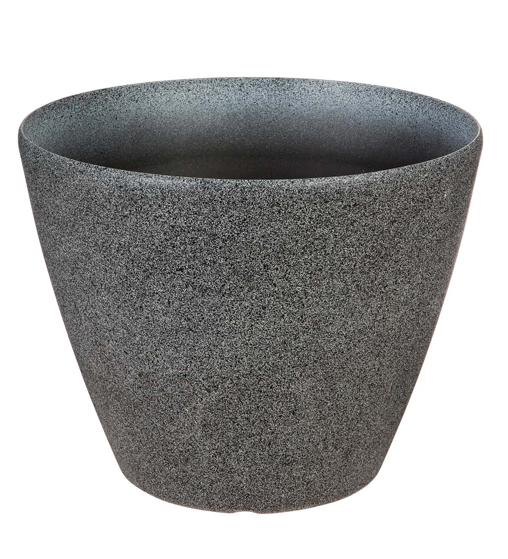 Durable Speckled Self-Watering Planter