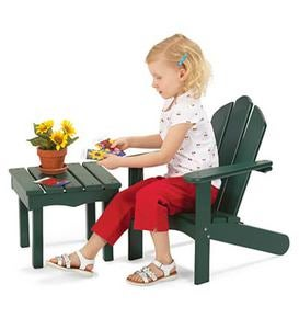 Kid-Sized Adirondack Furniture