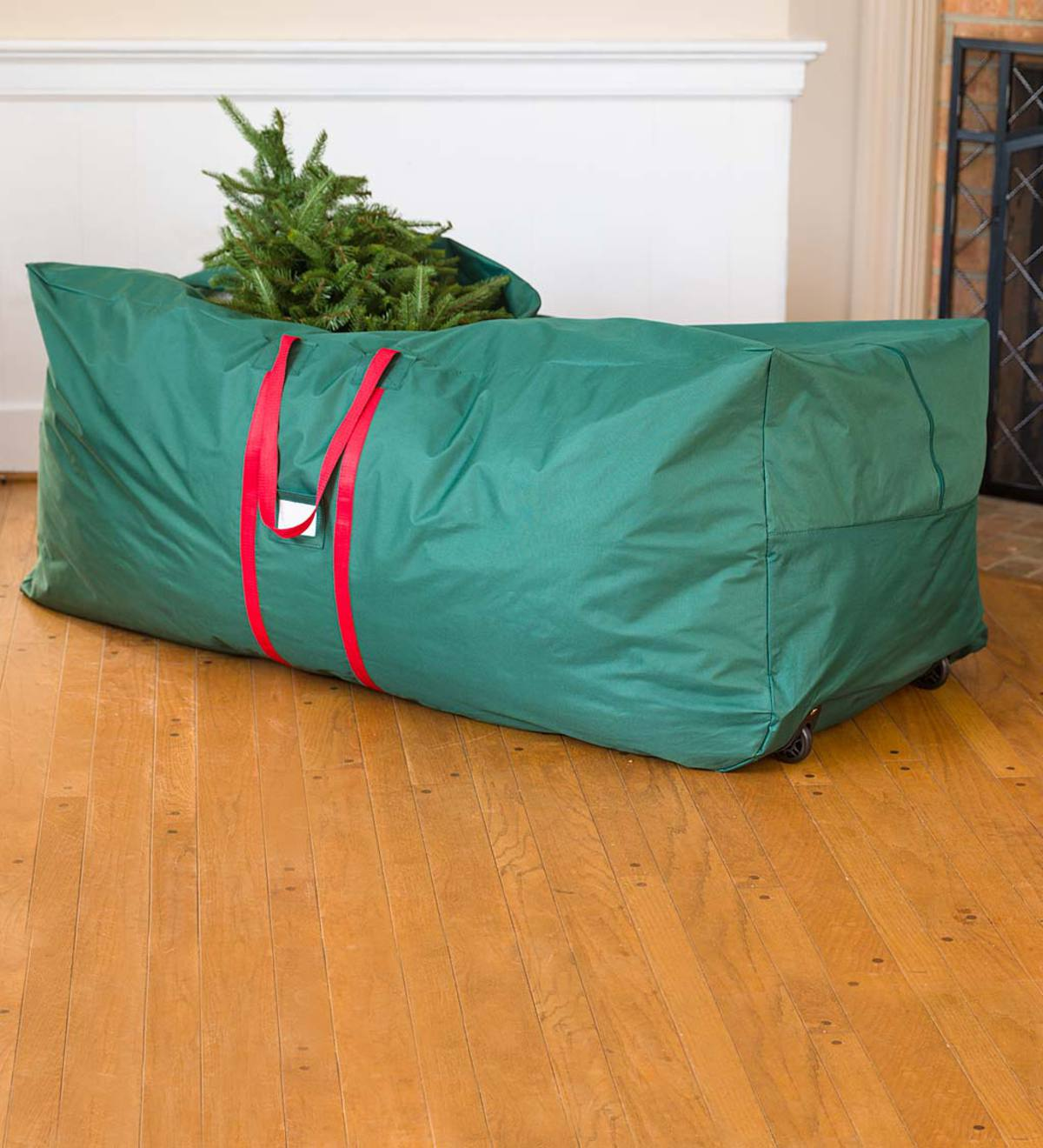 Heavy-Duty Polyester Holiday Tree Storage Bag With Handles