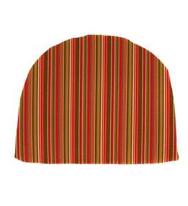"Sunbrella Classic Chair Cushion, 18½""x 18""x 3"" - Cherry Stripe"