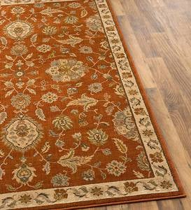 "Shenandoah Floral High-Performance Rug, 7'10""x 10'10"""