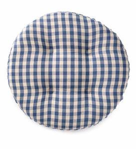 Non-Slip Gingham Bar Stool Pad