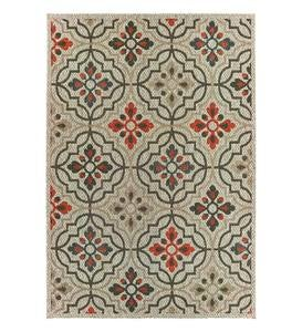 Cambridge Tilework Indoor/Outdoor Rug