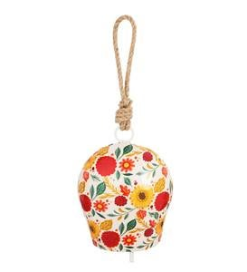Blooming Floral Metal Bell Chime