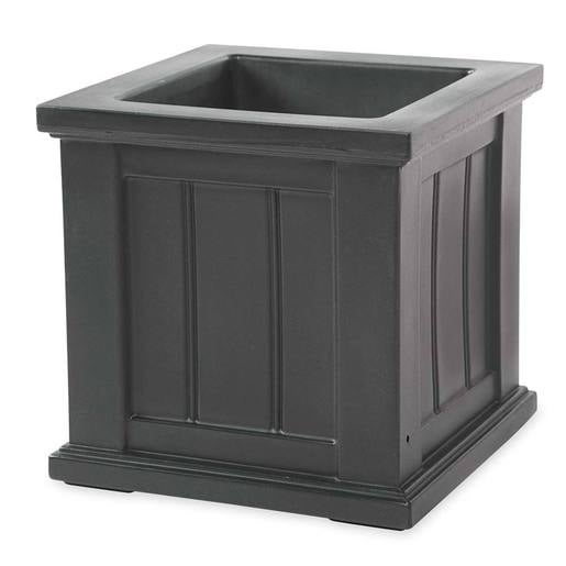 "Lexington Self-Watering Planter, 14""sq."